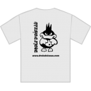 Tee-shirt Logo blanc dos