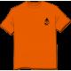 Tee-shirt Logo orange devant