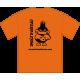 Tee-shirt Logo orange dos