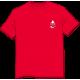 Tee-shirt Logo rouge devant