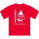 Tee-shirt Logo rouge dos